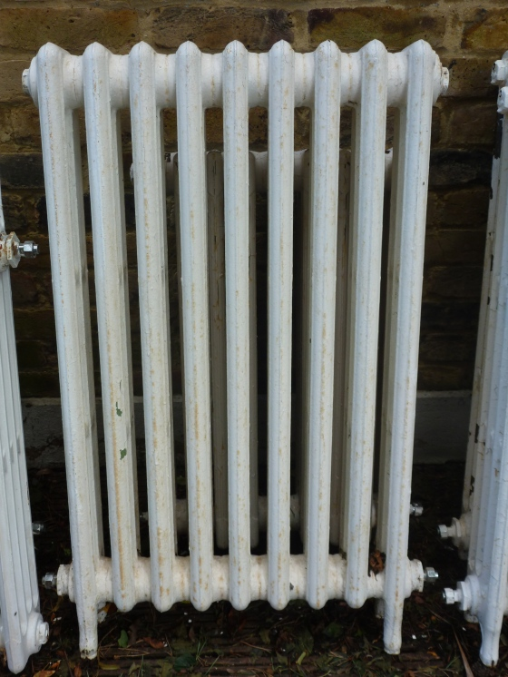 reclaimed Edwardian radiator
